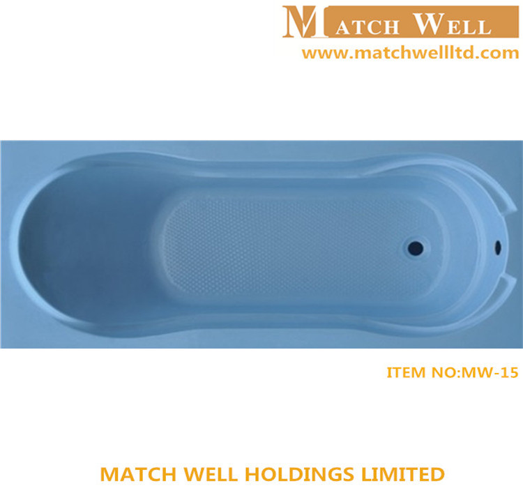 simple straight china wholesale handicap bathtub