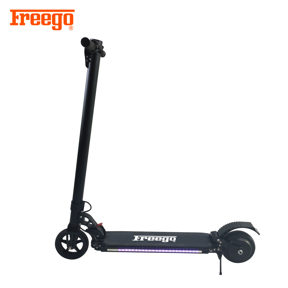 2018 Freeggo High power 2 Wheels adjustable folding kick Electric Scooter for Adults, Customized