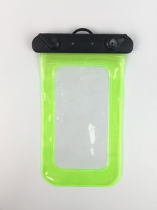 Clear Zip Sealed Floatable Waterproof Case Special For Phone