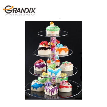 3 4 5 6 7 8 Tier Cupcake Stands and Stacked Cake Stand for Party