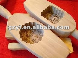 Wooden custom-made cookie mold moon cake mold