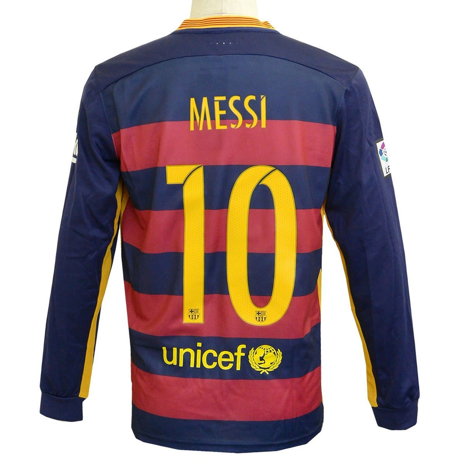 94c81d755 Get Quotations · Barcelona Messi Long Sleeves Soccer Shirts