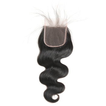 Natural Brazilian Human Hair Closure