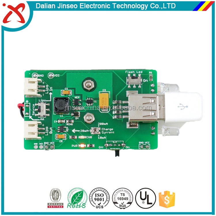 Assembly set top box pcb circuit board