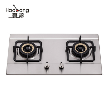 Tabletop Built In Double Used 2 Burner Gas Cooktop Gas Stove For Sale