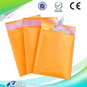 Fully Colors-Printed Kraft Bubble Mailer Envelopes Paper for Notebook and CD 2018 Hot Selling