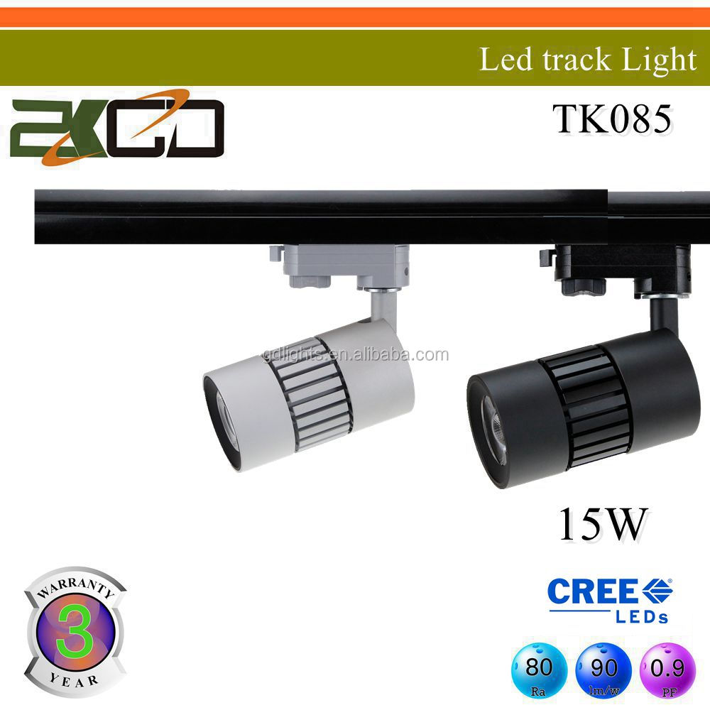 high power COB 12/30/45W led track spot lamp with 3 years warranty