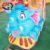 Animal World Theme Amusement Park Rides Electric Children Track Train for Sale