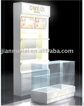 Cheap Nice Acrylic Display Perfume Stand With Small Holders