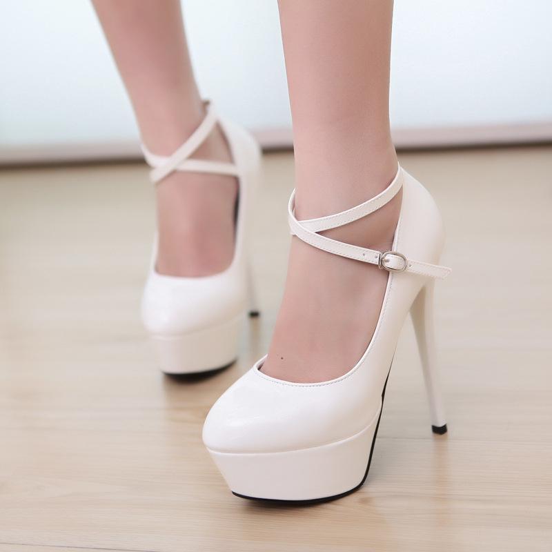 White Heels For Cheap - Boot Hto