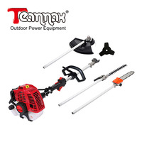 4 in 1 52 CC Petrol Long Reach Multi Function Garden Tool. Includes : Hedge Trimmer Grass trimmer Brush Cutter Chainsaw