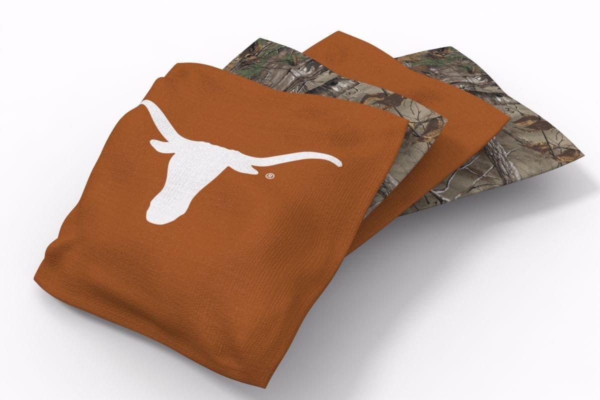 Texas Longhorns RealTree Camo Bean Bags-4pk (A)