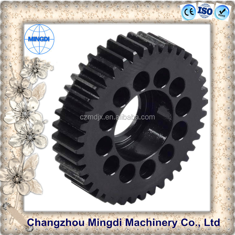 Differential Spur gear paper shredder Parts/ Steel Small metal Pinion Gear