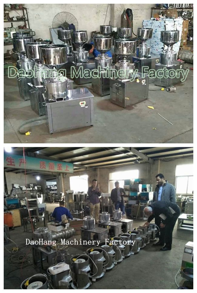 Stainless Steel Automatic Multifunctional Peanut Butter Making Machine