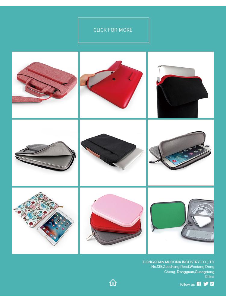 Реверсивный тонкий дизайн неопрена 11 дюймов Laptop Sleeve Чехол, Laptop Sleeve сумка