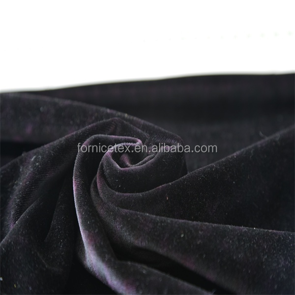 High quality 100% Polyester upholster flame retardant feature brush velboa fabric for curtain and sofa fabric