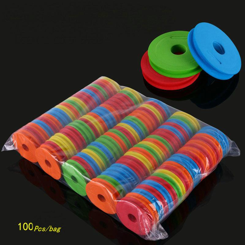 Alibaba.com / 100Pcs/bag Fish EVA Foam Wire Board Fishing Winding Line Board Pesca Fishing Tackle box fishing Accessories