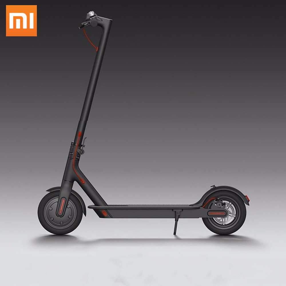 Xiaomi MI M365 electric scooter folding kick skateboard 8 inch hoverboard scooter, White black