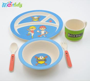 Colorful Large bamboo fiber kid set /eco friendly disposable plates/reusable plates  sc 1 st  Alibaba & Colorful Large Bamboo Fiber Kid Set /eco Friendly Disposable Plates ...
