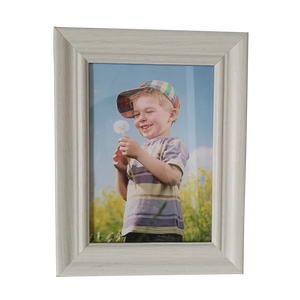 Customized size simple wood picture frame 4x6 5x7 8x10 11x14 concise white photo frames