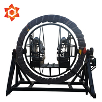 Amusement carousel orbitron carnival games entertainment 3d space ring amusement ride human gyroscope games 3d gyro-extreme