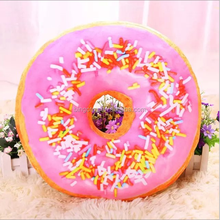 Wholesale New design stuffed Doughnut toy soft plush donut shaped toy in high quality