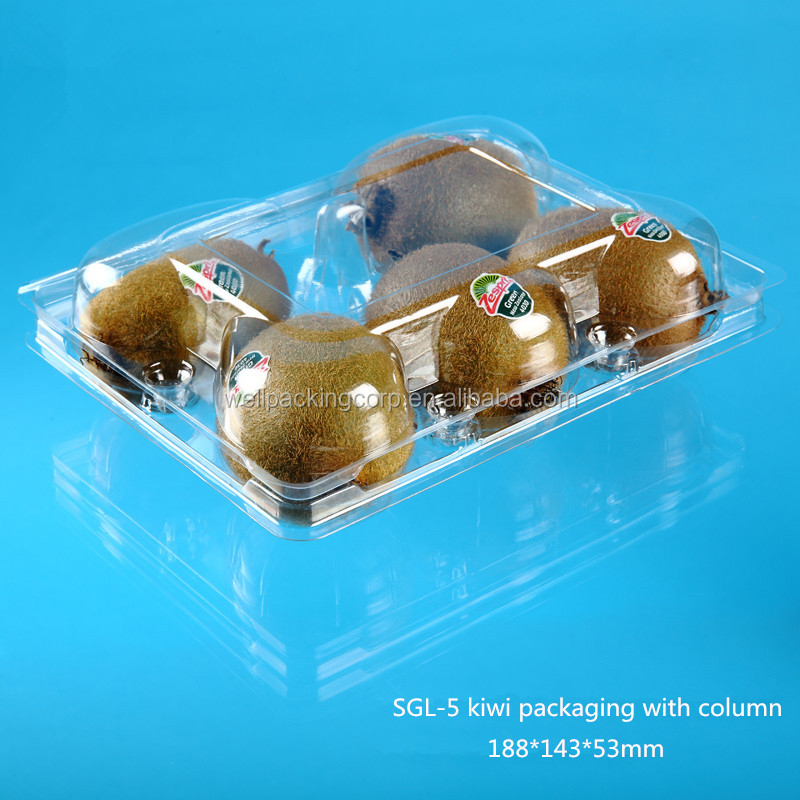 Popular Fruit Shaped Disposable Plastic Fruit Packing Box Wholesale