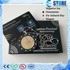 japan technology quantum energy pendant lava stone health wearing necklace + nano energy card
