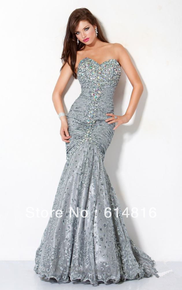 Cheap Silver Mermaid Dresses, find Silver Mermaid Dresses deals on ...