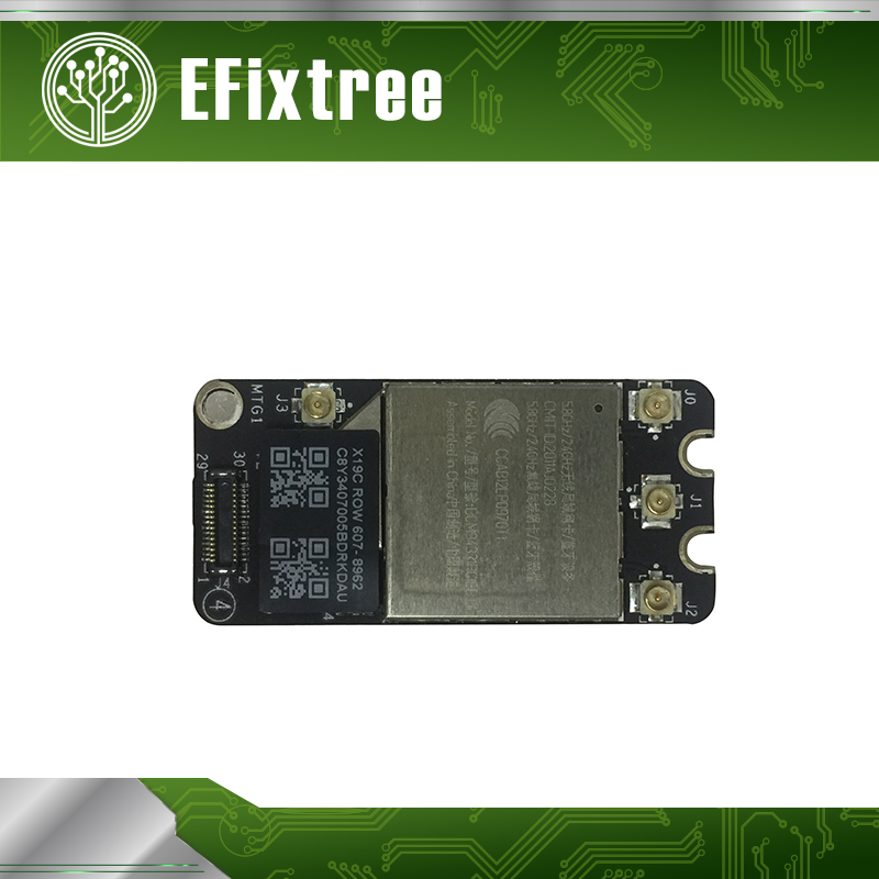 Genuine Like New BCM94331PCIEBT4CAX 4.0 Card Airport WIFI+BT Bluetooth 4.0 for Apple Macbook A1278 A1286 A1297 802.11N 2011-2012