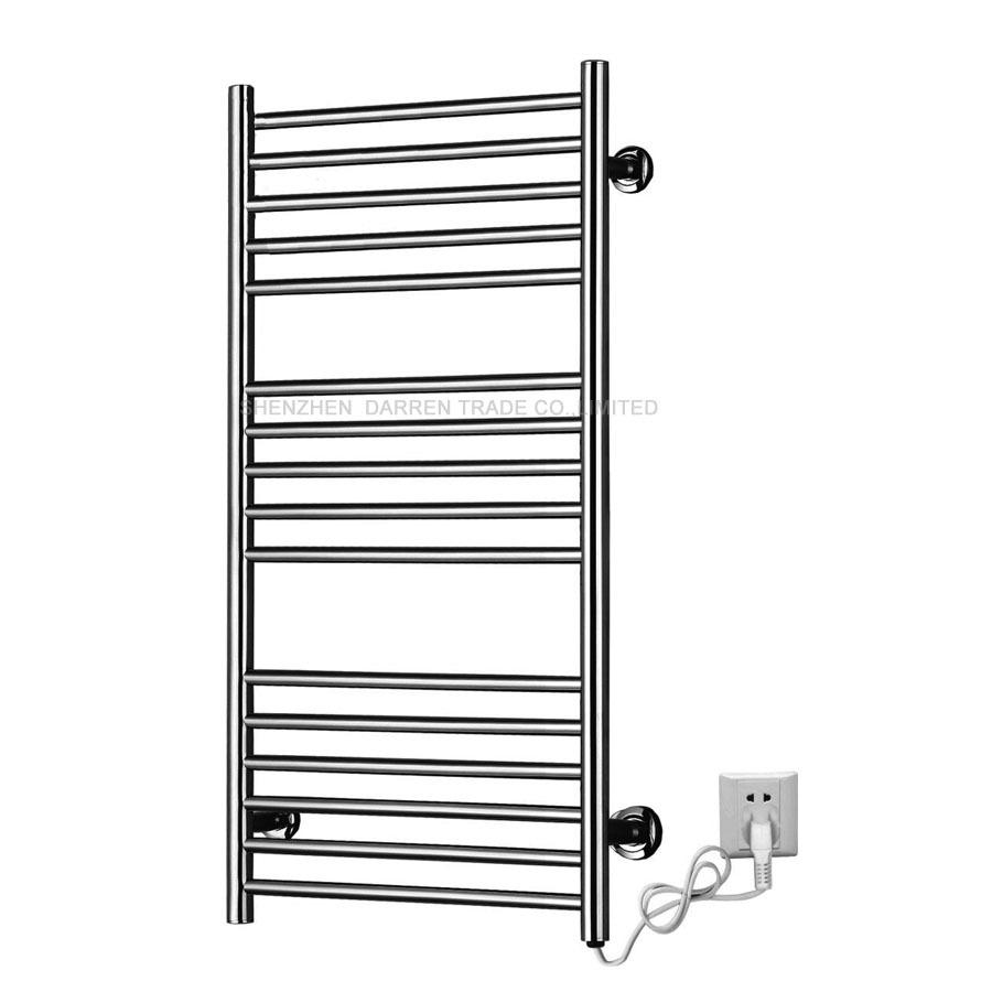 Towel Dryers Bathroom: 4pcs Heated Towel Rail Holder Bathroom AccessoriesTowel