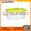 Transparent Plastic Box With Handle