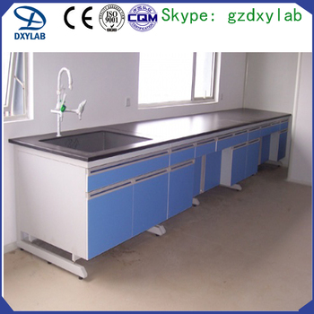 facotry price phenolic resin worktop movable steel workbench with wheels