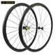 2018 X-BIKE 700c high profile superlight bicycle carbon tubular wheelset 30mm