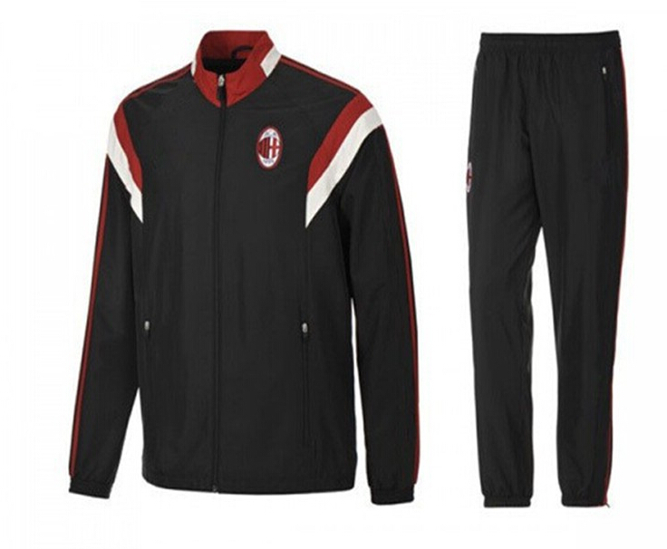 ca91f6b40 Get Quotations · Top Quality 2015 AC Milan training tracksuit White  embroidery logo 14 15 AC Milan HONDA TORRES