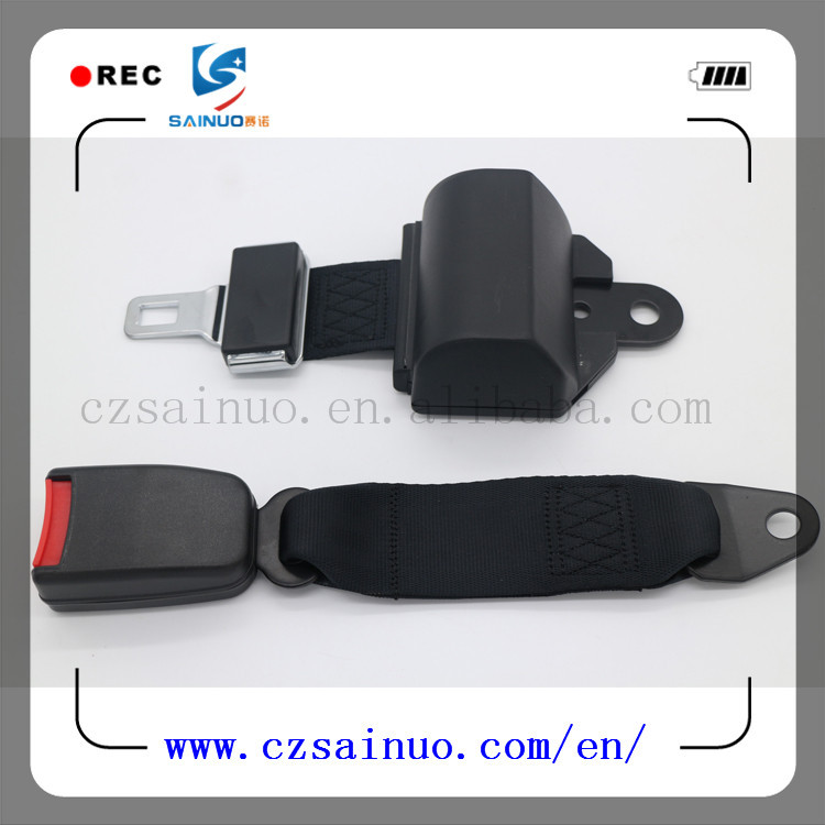 Hot selling 2 points retractor safety belts are being designed
