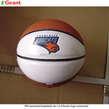 PVC laminated basketball size 1 pvc basketball