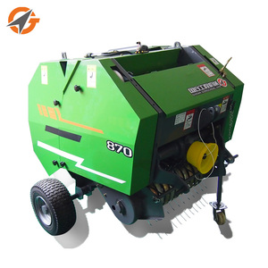 Tractor PTO driven mini hay and grass straw baler