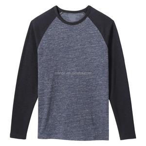 Wholesale Online Raglan Athletic Long Sleeve Plain Baseball T Shirts Fashion Jersey Tee Shirts Man Apparel