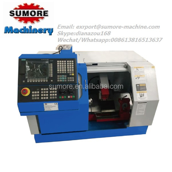 Taiwan turret type slant bed cnc lathe machine for sale