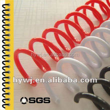 plastic spiral binding material binding supplies plastic binding spiral coil