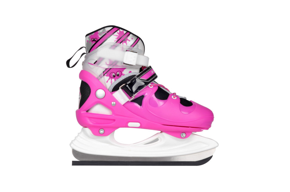 Superstar latest professional adjustable hardboot ice skating shoes