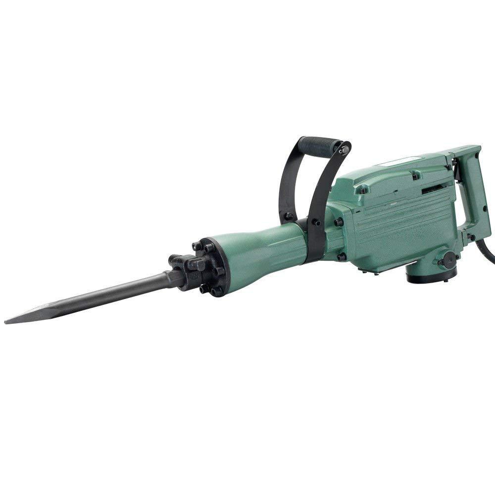 ESKALEX>>Electric Jack Hammer | 1240W Demolition Concrete Breaker w/2 Heavy Duty Chisel And Electric Jack Hammer with 2 Heavy Duty Chisels 110V~60HZ, 1240W No Load Speed: 1400rpm 360 Degree Swivel