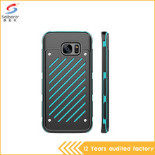 Bulk cheap TPU+PC anti gravity phone cases for samsung galaxy s7 s7 edge mobile phone accessories factory in china