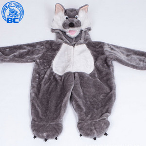 High Quality Cheap Wolf jacket Costume for kids
