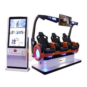 2019 amusement park virtual reality vr game machine with excited roller coaster games