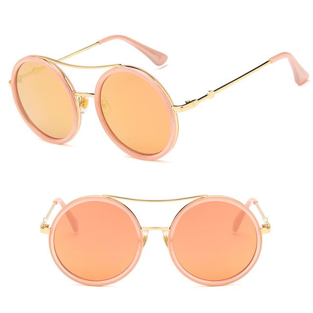 2019 Fashion Oculos Gafas De Sol Lentes Del sol Round glasses Sunglasses