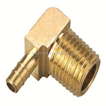 Elbow Barb Hose fitting Pneumatic Connector