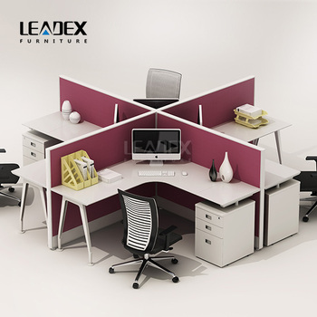 modern office call center 4 person workstation furniture buy 4 rh alibaba com 3 Person Workstation Workstation 4 Seater