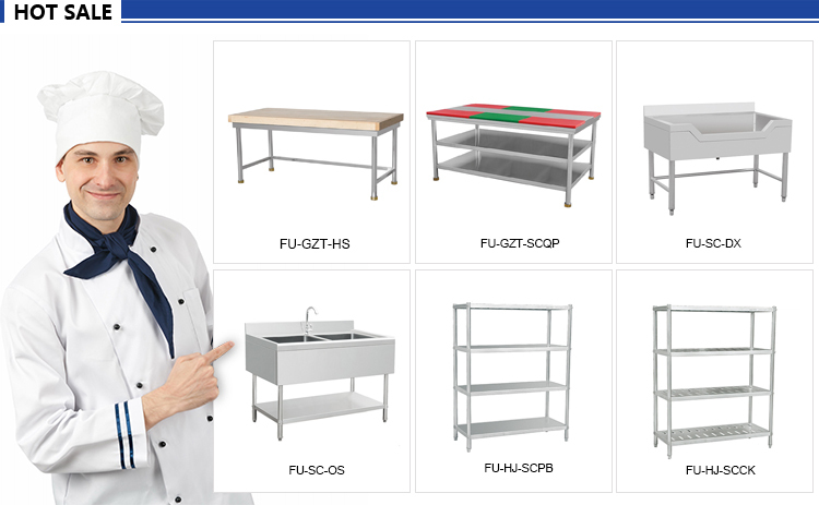 High Quality Modern Kitchen Industrial Stainless Steel Work Bench